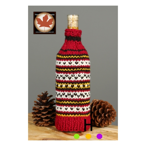 Wine Wraps are a great handmade Canadian gift item.