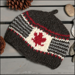 #101- Toddler Hat (age 2-4 years), hand knit naturally dyed wool - $50.00 (plus $6 shipping)