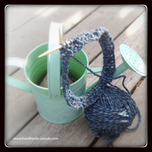 blog morning knitting handmade in canada