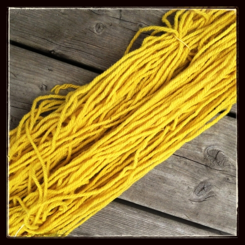 goldenrod yarn