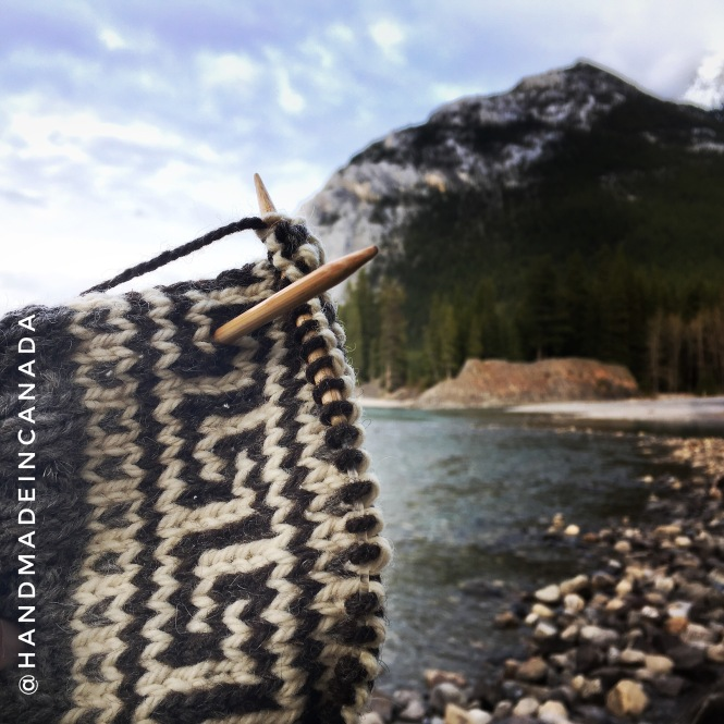 Canadian knit Coffee Press Sweater